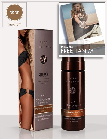 pHenomenalMedium self-tan